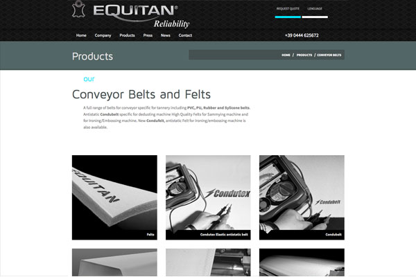 New site equitan products page