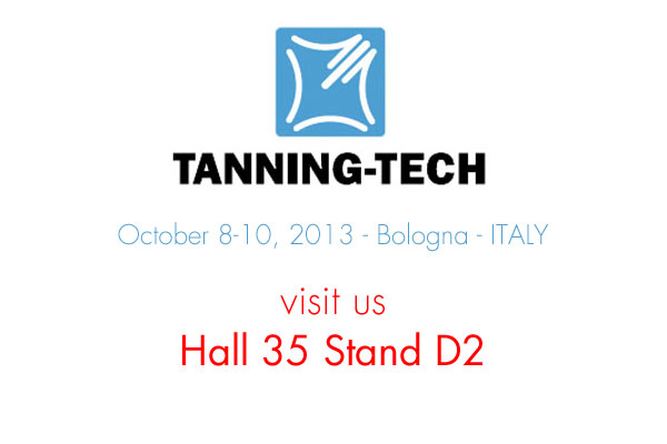 Tanning tech 2013 stand D2 Hall 35